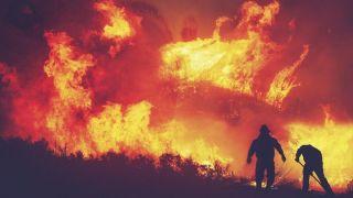 Požar u kovid bolnici u Tetovu, ima poginulih