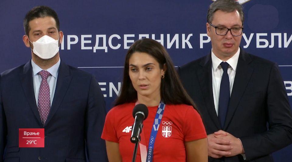 NEK SE VIDI RASKOŠ: Za zlato 100.000 evra od građana Srbije. Vučić najavio povećanje nagrade budućim olimpijcima
