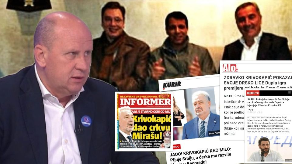 Đorđević: Jedina slamka za koju se Milo drži u politici je antisrpska histerija i Vučićev režim koji uporno ruši Krivokapića