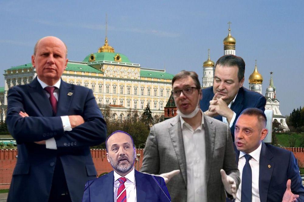 Prijatelji i kvaziprijatelji: Postoji li Vučićev zdravstveni karton i u Moskvi?