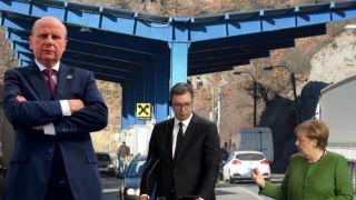 Đorđević: Postavljanje kontejnera kosovske policije kod Jarinja je rezultat posete Angele Merkel