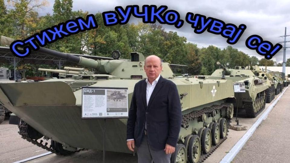 Đorđević posetio Vadima Zadorožnog i najbolji muzej vojne istorije u Rusiji