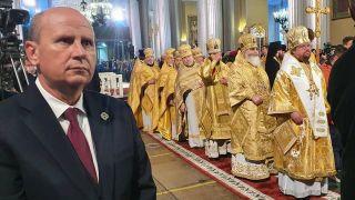 Đorđević u Sankt Peterburgu na proslavi 800. godišnjice rođenja Aleksandra Nevskog
