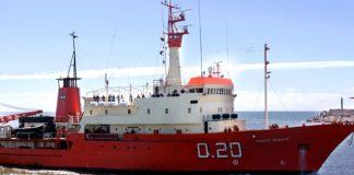 Un buque de bandera argentina, en problemas en las cercanías de Malvinas