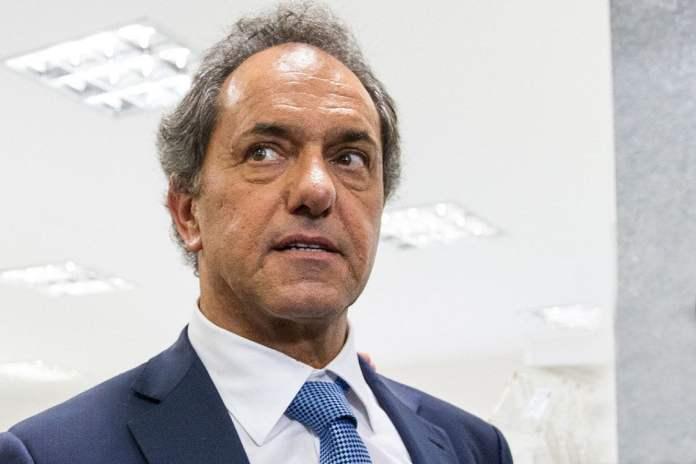 Daniel Scioli, duro con Mauricio Macri