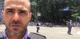 Daniel Garrido pasó un mal momento en Venezuela