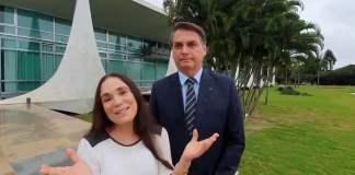 Regina Duarte abandona a Bolsonaro