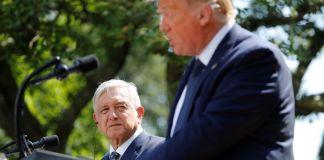Después de la polémica por el muro, AMLO y Trump se vieron las caras