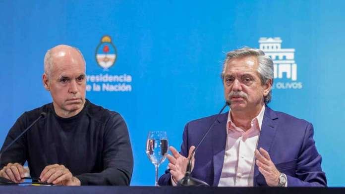 Horacio Rodríguez Larreta y Alberto Fernández se reúnen a solas