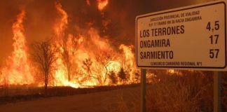 Córdoba está devastada por los incendios