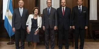 La CSJN aceptará el desplazamiento de 3 jueces