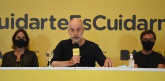 Horacio Rodríguez Larreta se defendió de las acusaciones