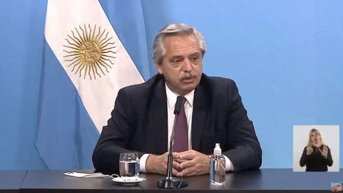 Alberto Fernández brindó una conferencia de prensa