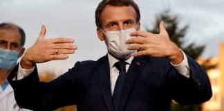 Macron con coronavirus