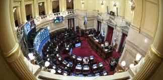 El Senado y el trabajo previo a las restricciones