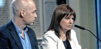Rodríguez Larreta y Bullrich fueron denunciados