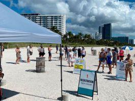 El turismo COVID es boom en Miami