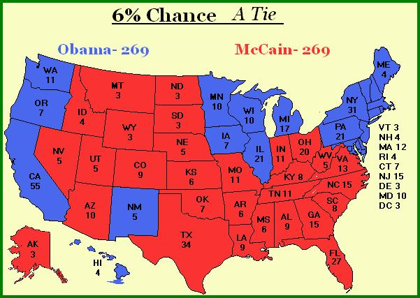The unlikely but very possible tied election result