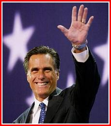Former Governor And Future Nominee MittRomney