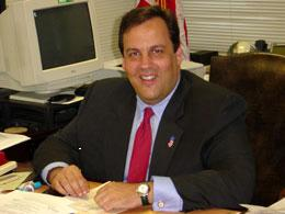 Potential republican Nominee for Governor, Chris Christie