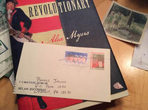 Bonnie Jeanne's Postal Bookmark