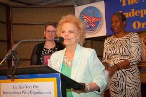 Josephine Coskie, NIcholas S. Johnson Independent Spirit Award 2013
