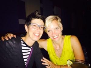Barbara Patrizzi and Jenn Bullock