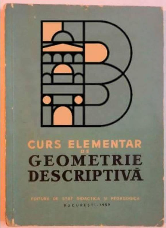 Logo Bucuresti - manual de geometrie descriptiva