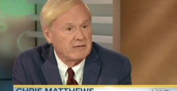 Watch Chris Matthews attempt to scare Americans against Bernie Sanders brand of Democratic Socialism.
