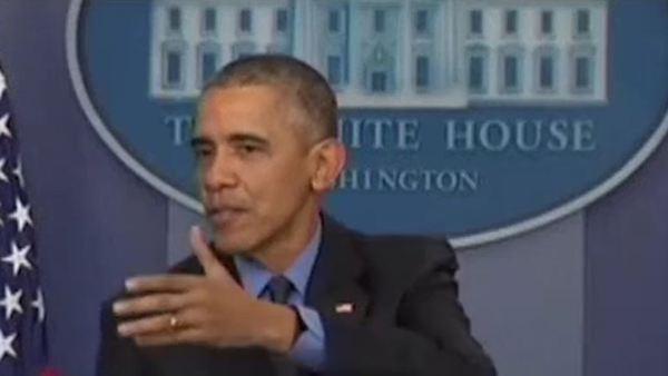 President Obama at Press Conference