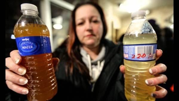 Flint Michigan water lead poisoning