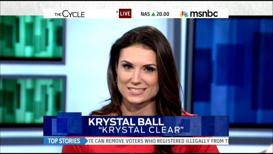 Former MSNBC Host Krystal Ball