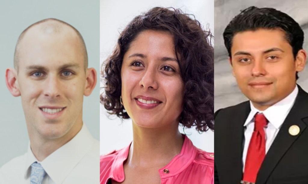 Progressives Politics Done Right Millennials Aaron Moore, Lina Hidalgo, Ivan Sanchez