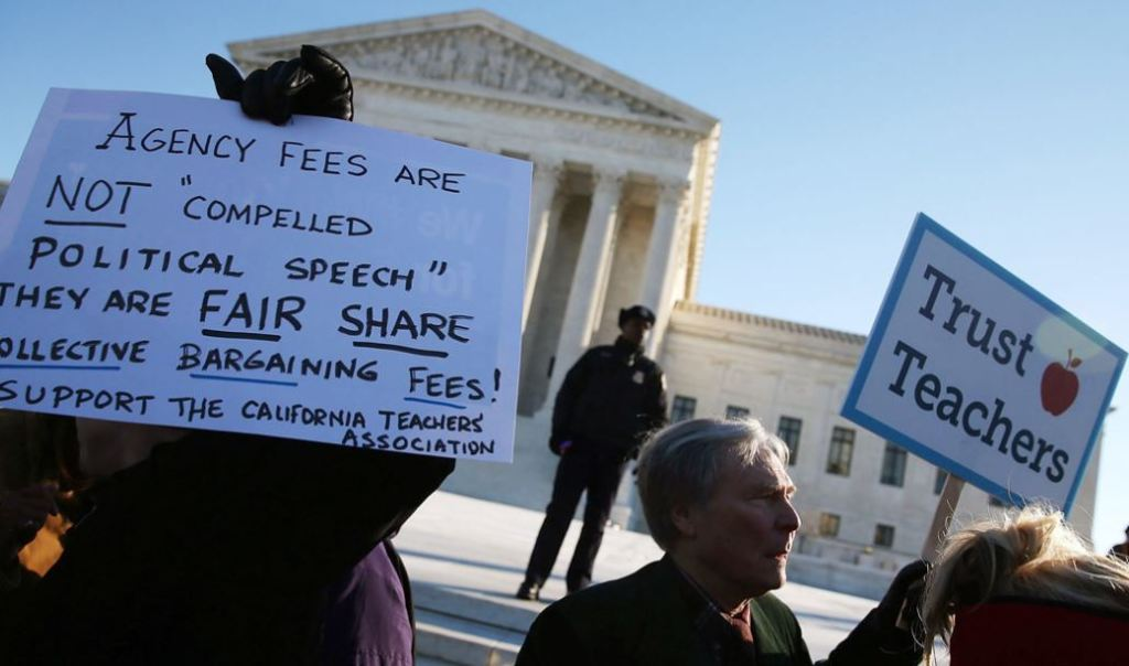 The Plutocracy through the Supreme Court has all but destroyed labor unions