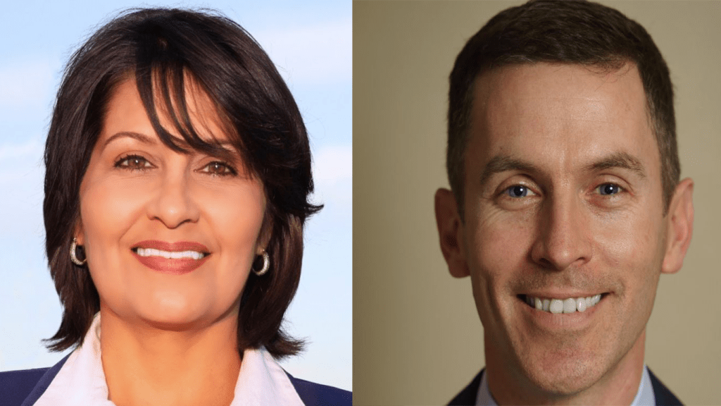 Candidates Penny Shaw and Mike Siegel will ride the Blue Wave in Texas