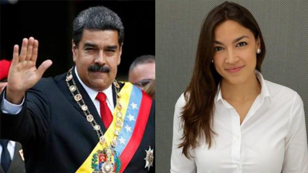 Nicolas Maduro - Alexandria Ocasio-Cortez