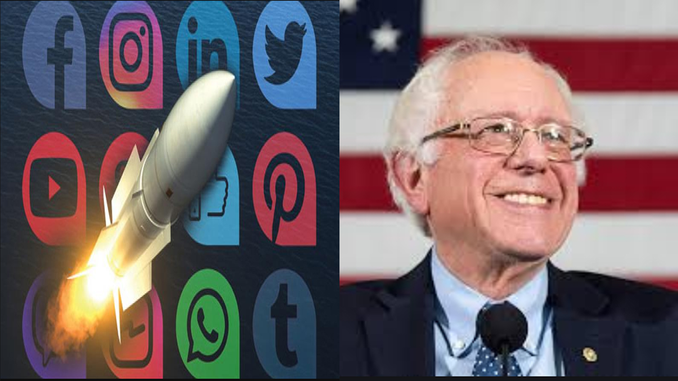 Bernie Sanders surge – Trump doing something the left must get busy doing.