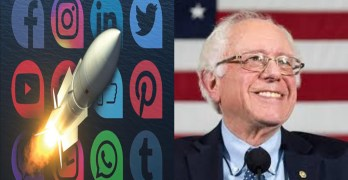 Bernie Sanders surge - Trump doing something the left must get busy doing