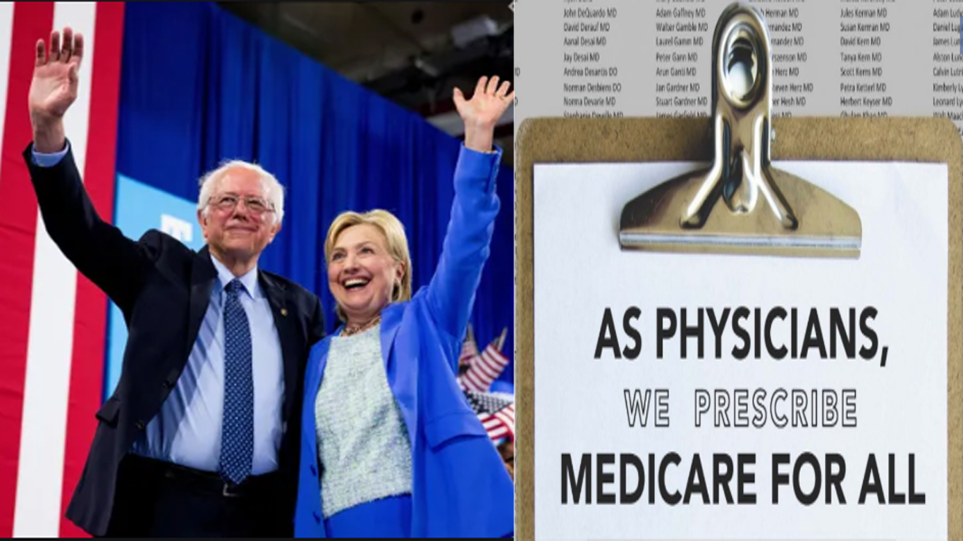 Hillary's Bernie attack was shameful. More doctor organizations supporting Medicare for All.