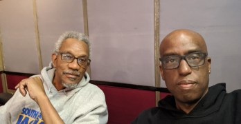 Egberto Willies & Dr. Franklin D. Jones on Super Tuesday