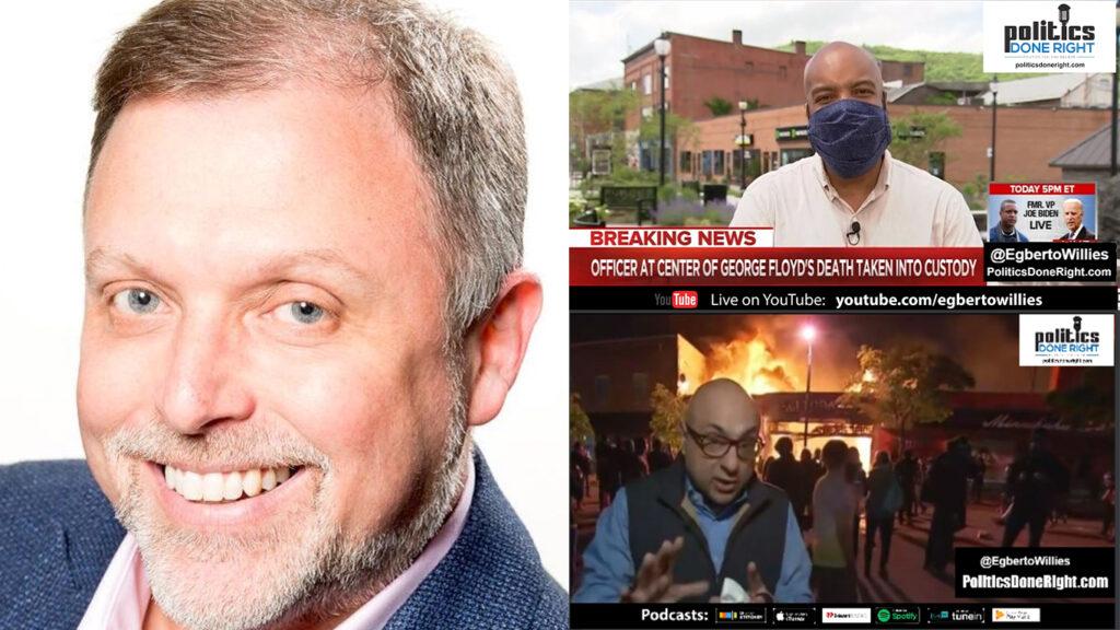 Tim Wise, an anti-racist crusader, talks Minneapolis & more. CNN reporter explodes