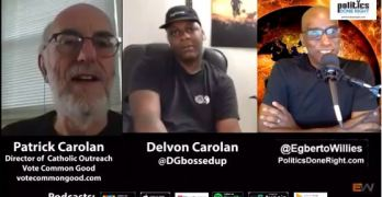 Patrick & Delvon Carolan White Father, Black son discuss their American experience