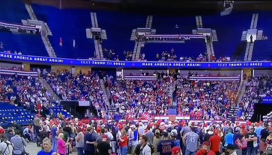 Tulsa BUST: President Trump's rally was poorly attended