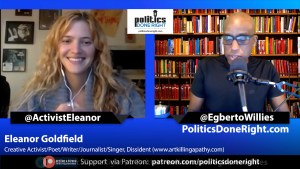 Eleanor Goldfield Activist talks COVID-19 herd immunity after returning from Sweden