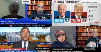 Patrick Carolan - voting hope vs. hate, Trump imaginary world, Right-Wing dialogue, MSM Awake