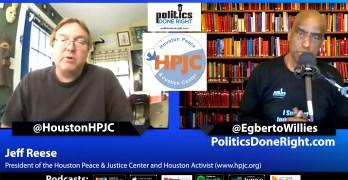 Jeff Reese, president of HPJC & Houston Activist