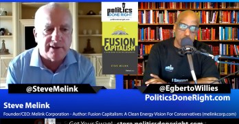 Steve Melink, Conservative supporter of Green Energy all should listen to now