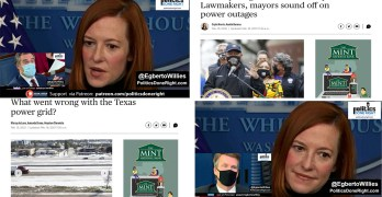 Texas electric grid failure proves GOP policy failures. W.H. Press Secretary Jen Psaki shines