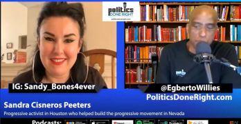 Progressive Activist Sandra Cisneros Peeters on Progressive takeover of the Nevada Democratic Party