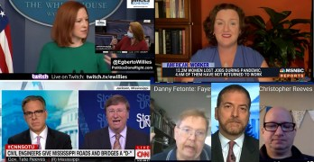 Katie Porter warns Biden, Jen Psaki neuters reporter, Jake Tapper fails with Mississippi Governor